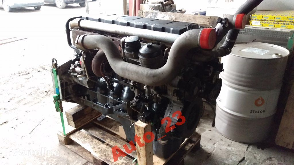 moteur MAN Kompletny 340tys km pour camion MAN TGX EURO 5 440